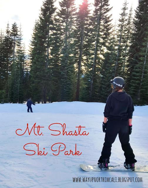 Mt. Shasta Ski Park, Northern California www.wayupnorthincali.blogspot.com