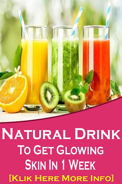 Natural Drink To Get Glowing Skin In 1 Week