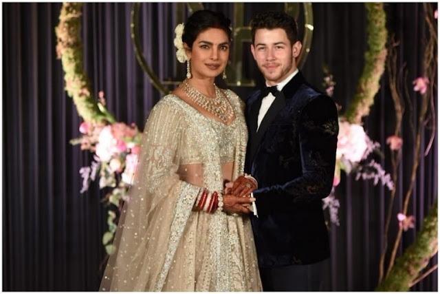 Priyanka Chopra Nick Jonas Wedding Reception