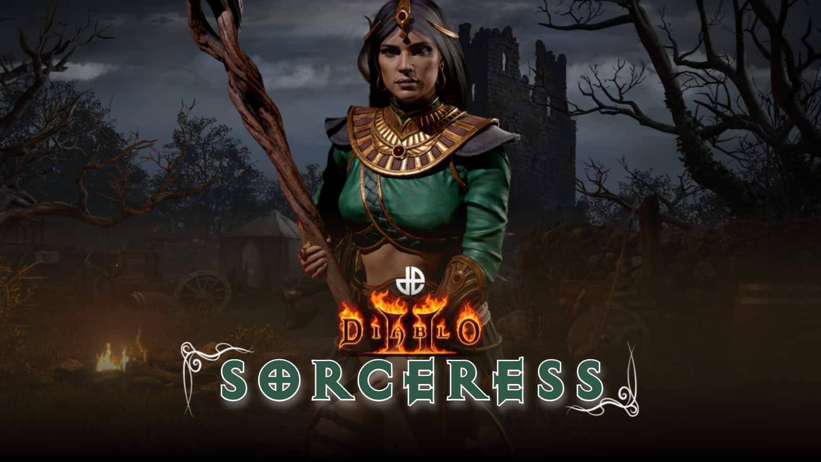 Diablo 2: Resurrected - 2 builds for the sorceress, explained quickly and easily
