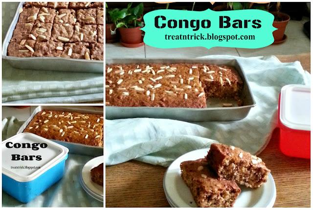 Congo Bars Recipe @ treatntrick.blogspot.com