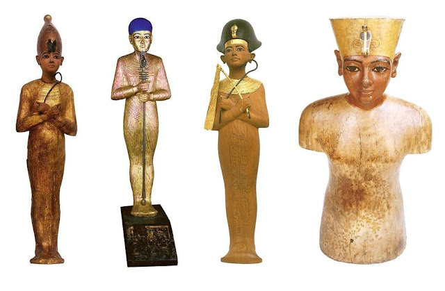 Tutankhamun Statues Video