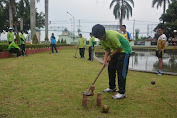 Jalin Kebersamaan, Kowad Korem 071/Wijayakusuma Bermain Woodball Bareng