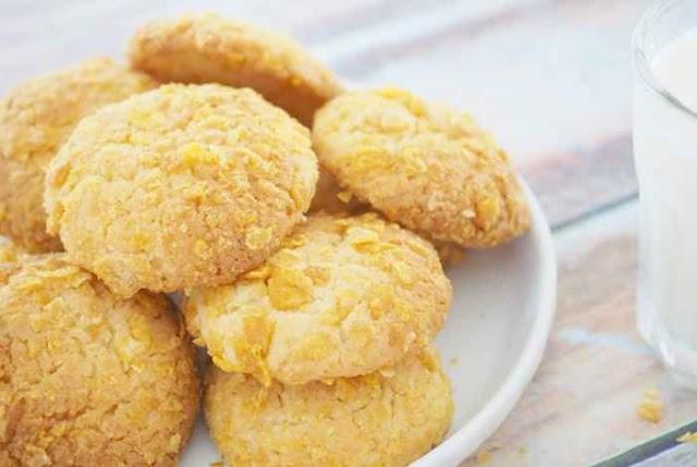 Budi Cooking - Resep Membuat Cornflakes Cookies