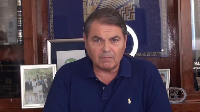 Δ. Καμπόσος: Οργή, θλίψη και αγανάκτηση για αυτό που έχει βρει την πατρίδα μας (βίντεο)