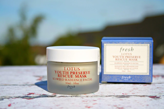 Fresh Soy Face Cleanser and Lotus Youth Preserve Rescue Mask Review