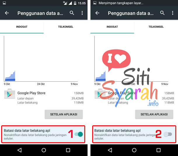 cara mengatasi background data disable