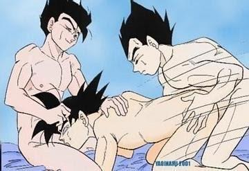 Bikini Goku Vegeta Naked Images