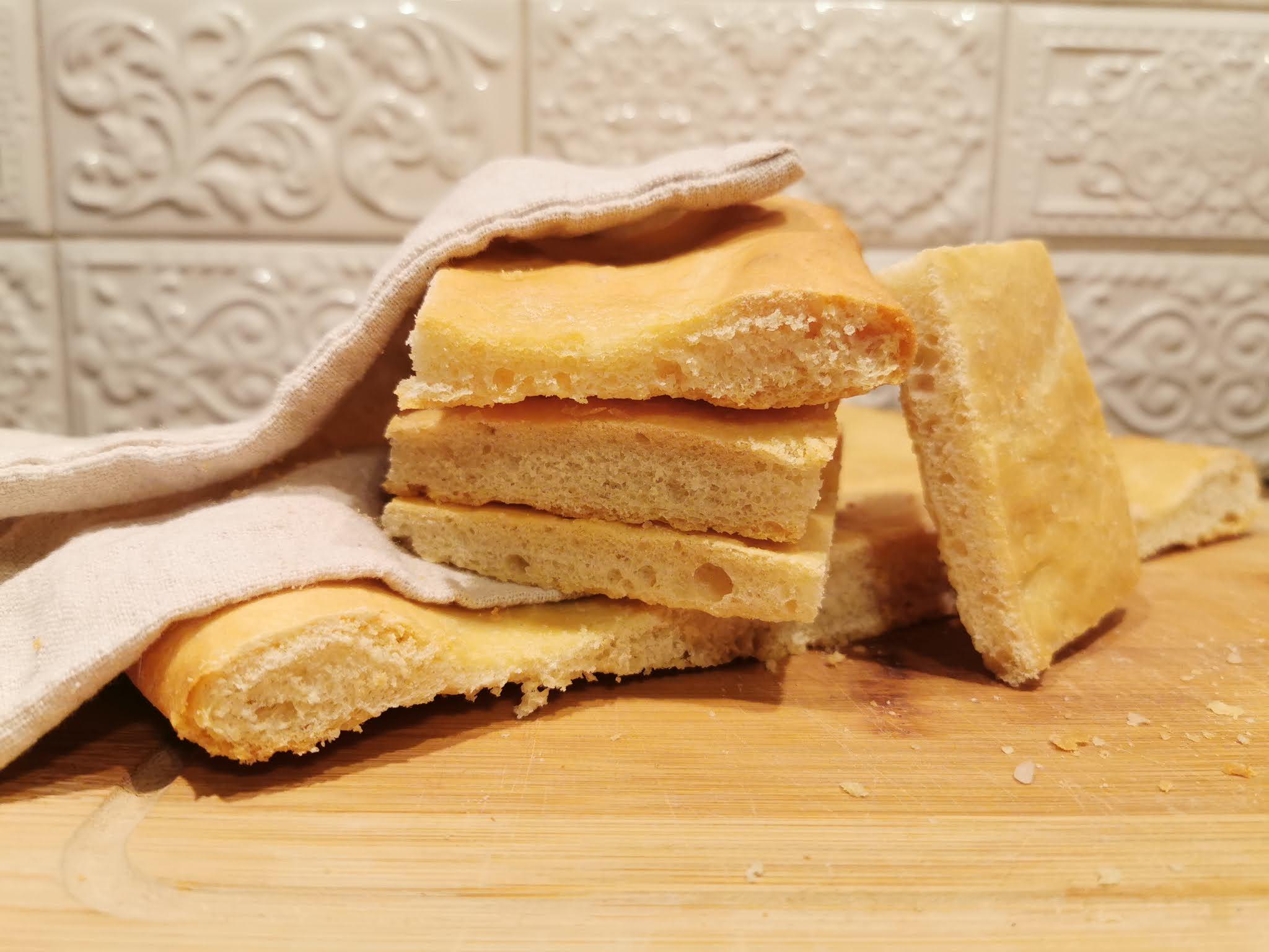 Schiacciata Toscana - płaski chleb toskański