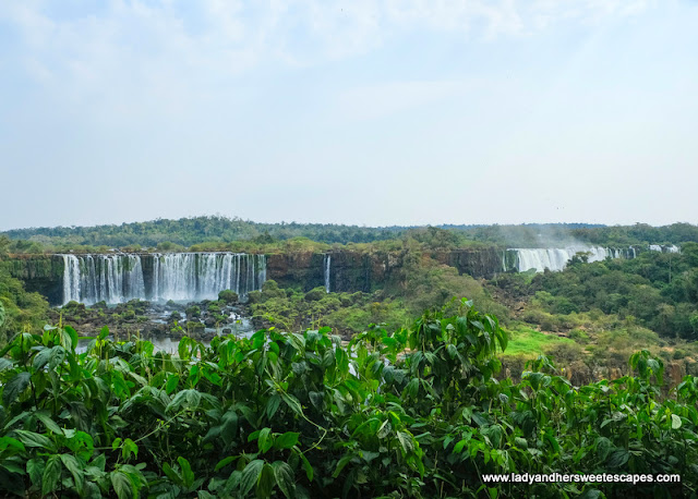 Argentina side of Iguazu Falls