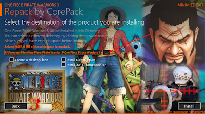Cara Install Game One Piece: Pirate Warriors 3 4