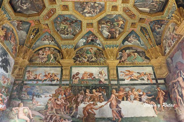 Sala de Cupido y Psique del palazzo Te de Mantua