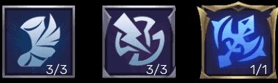 Emblem Kaja Tersakit dan Terkuat