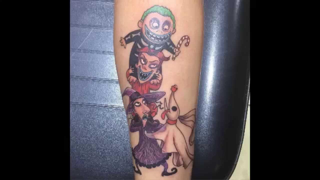 Tattoo Designs: Unique Christmas Inspired Unique Christmas Tattoo
