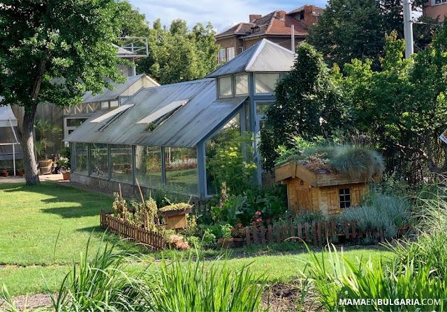 """Jardín """"de la abuela"""" Jardín Botánico Sofía Bulgaria"""