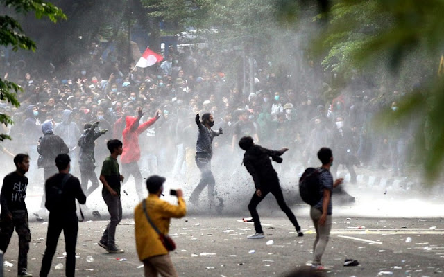 Aksi Demo Menolak UU Ciptaker Bakal Membesar di Jakarta, Indonesia Bisa Rusuh