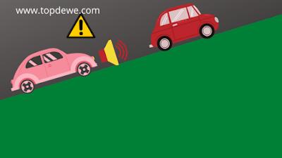 Cara nyetir mobil ditanjakan macet agar tidak mundur