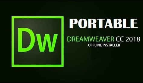 Portable Adobe Dreamweaver CC 2018