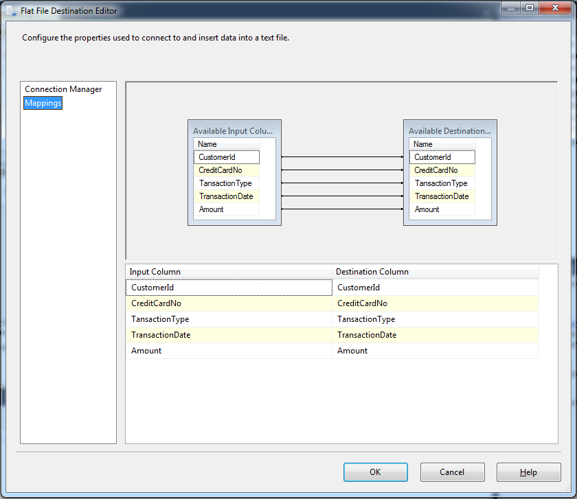 Configure Mapping
