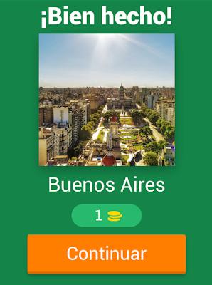 App Trivial Capitales de América