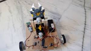 Remote Controlled Pick Place Robotic Vehicle