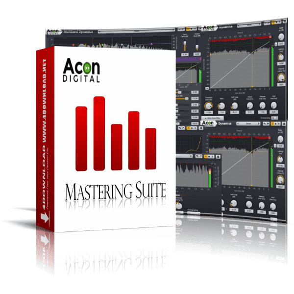 Acon Digital - Mastering Suite v1.0.6 Full version