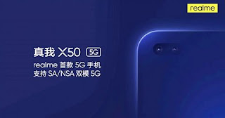 Realme X50 Smartphone launch with 5G Connectivity and Punch Hole display