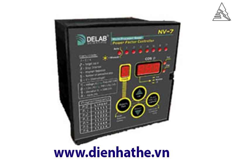 Hướng dẫn lắp đặt, cài đặt bộ điều khiển tụ bù Delab NV5