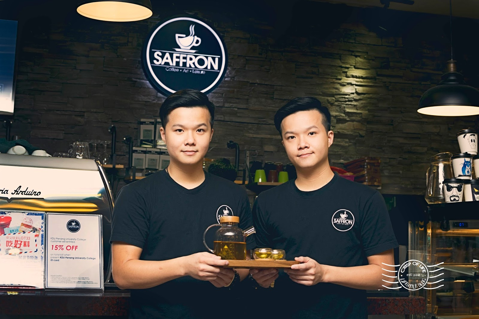 Saffron @ Lot 33, Prangin Mall, Penang