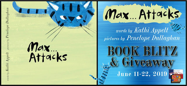 Max... Attacks book blog tour promotion banner