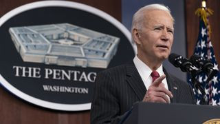 Biden's approval ratings drops to 44%