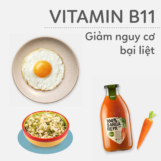 Hướng dẫn Mẹ Bầu bổ sung Vitamin B11 - Giảm nguy cơ bại liệt