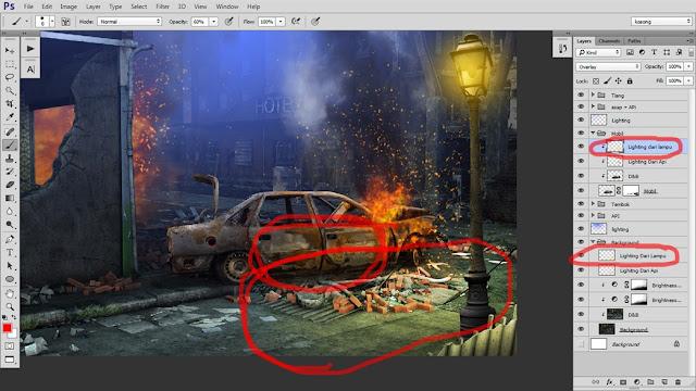 35 Tutorial Photoshop Dramatic Manipulation WAR part 2