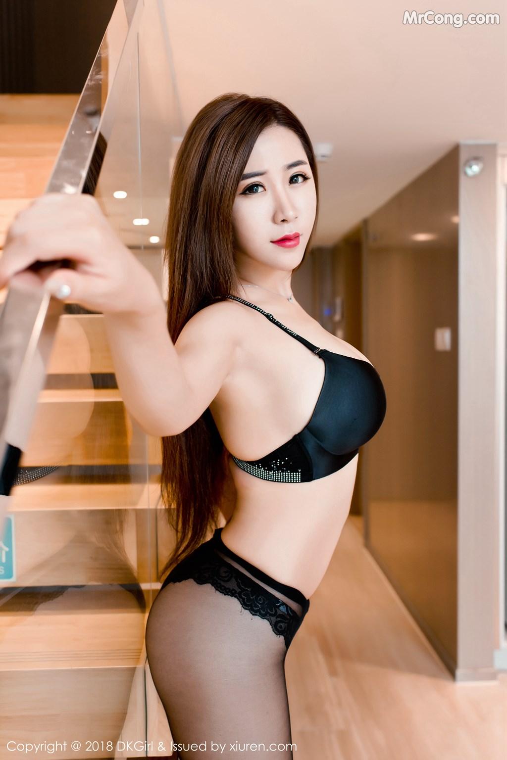 Image DKGirl-Vol.086-Cier-MrCong.com-005 in post DKGirl Vol.086: Người mẫu 雪儿Cier (47 ảnh)