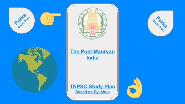 The Post Mauryan India