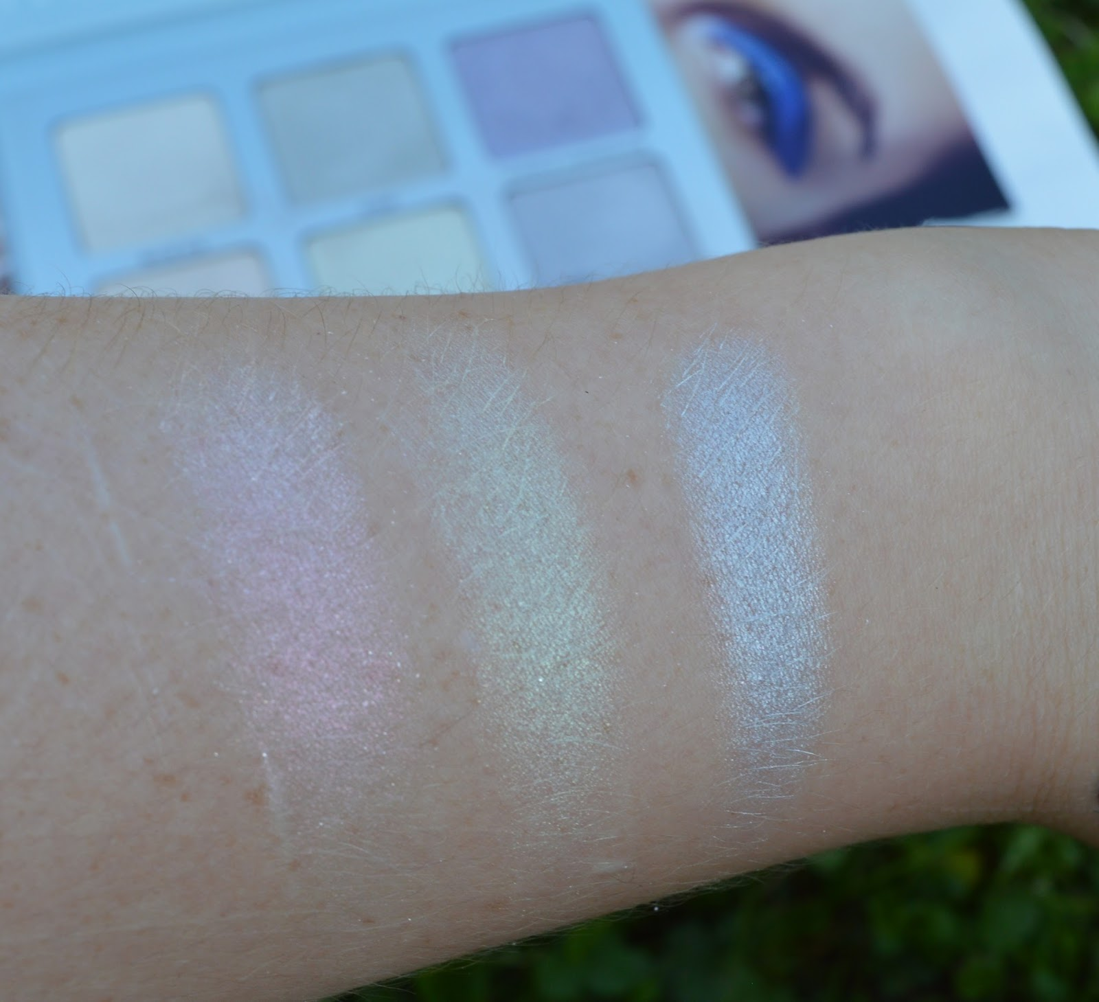 Swatches Pink Heart Lucky Clover Blue Moon Moon Child