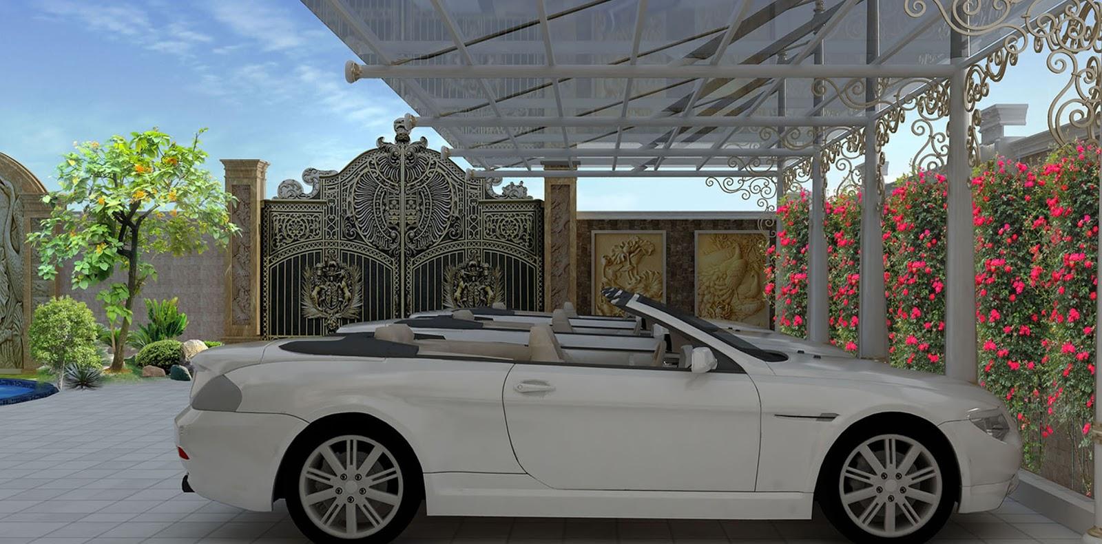 Thiết kế sân vườn nội thất biệt thự cổ tại Biên Hoà