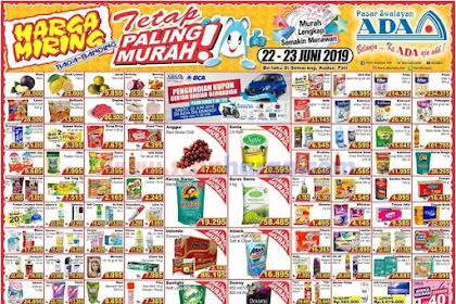 Katalog Promo Ada Swalayan 29 - 30 Juni 2019