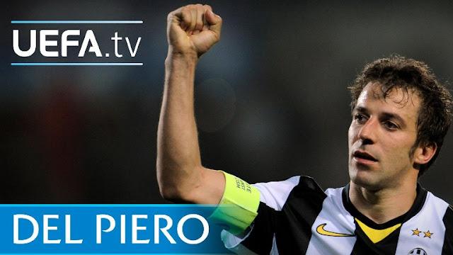 Del Piero Juventus Madrid