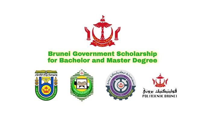 Bolsa de estudos do governo de Brunei para diploma, bacharelado e mestrado