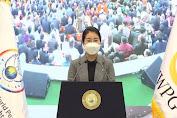Ketua IWPG Hyun Sook Yoon, Mendesak Dukungan untuk DPCW pada Peringatan Tahunan ke-5