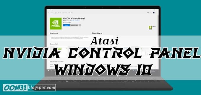 Cara Menampilkan NVIDIA Control Panel yang Hilang di Windows 10