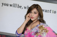 Angela Krislinzki Rogue Movie Fame Telugu Actress in Saree Backless Choli 029.JPG