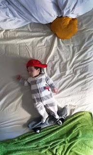 Ideas para fotos de bebés - skate
