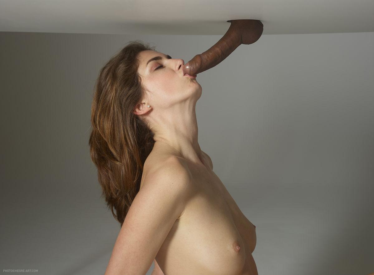 Rubbing my cum on my pussy before breakfast 6