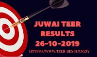 Juwai Teer Results Today-26-10-2019