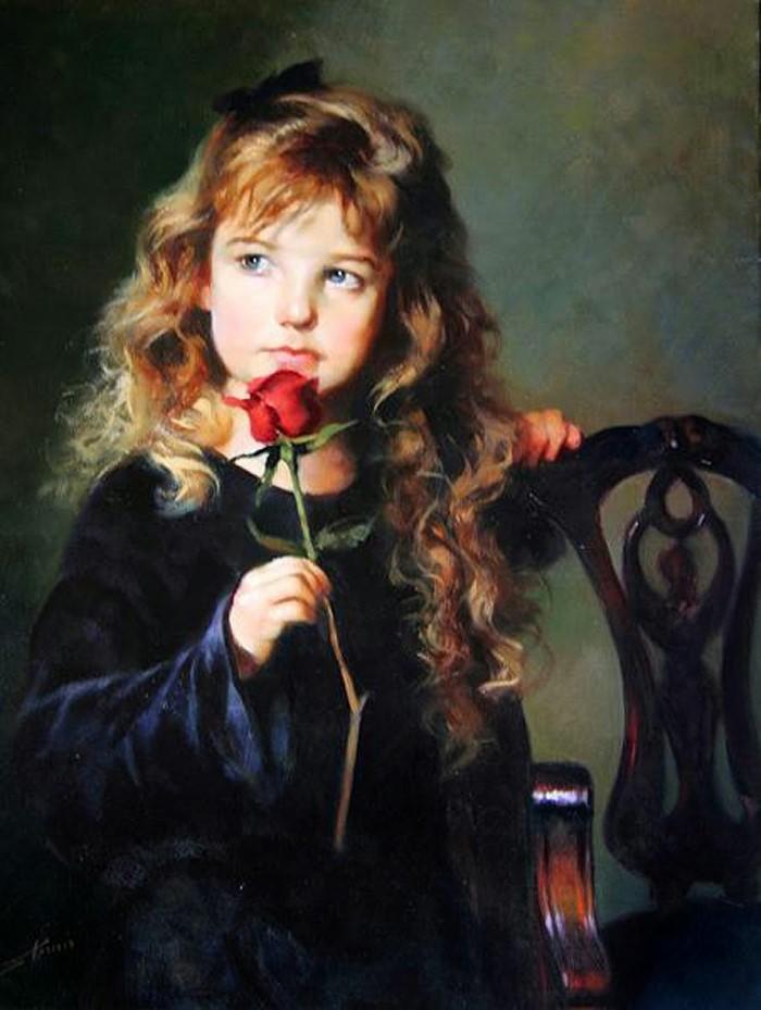Яркие портреты