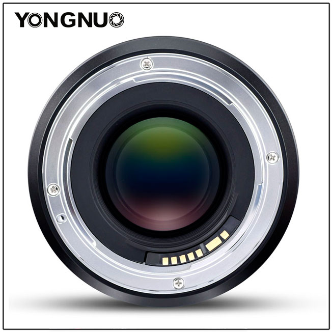 Объектив Yongnuo YN 60mm f/2 MF, вид сзади