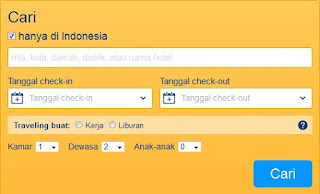 booking situs tempat pesan hotel online
