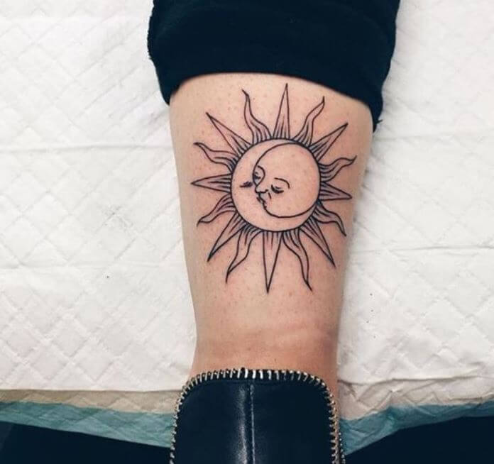 50 Sun And Moon Tattoos Ideas For Couples (2018